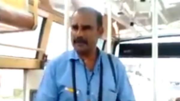 Tamilnadu government Bus conductor speech goes viral