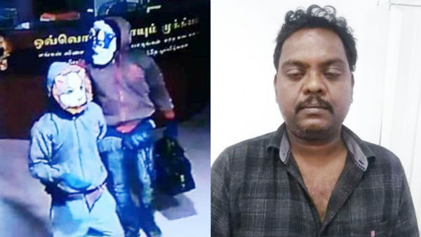 Lalitha Jewellers Robbery: Gundas act imposed against Manikandan and Kanagavalli