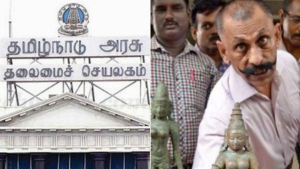 it is not pon manickavel but pm modi who helped to get back the idols say tn govt