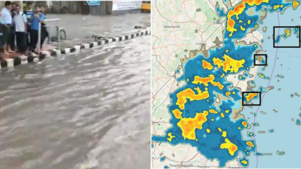 லேட்டாக வந்தாலும்.. சும்மா கிழி.. சென்னையை உலுக்கிய ஓவர்நைட் மழை... ! #chennairains