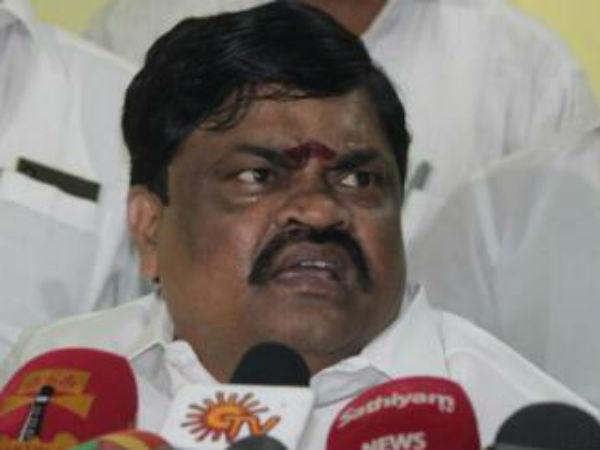Rajendra Balaji says that ADMK is ready to face Civic polls as a single party