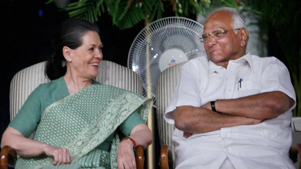 sharad pawar meets sonia gandhi today over shiv sena support