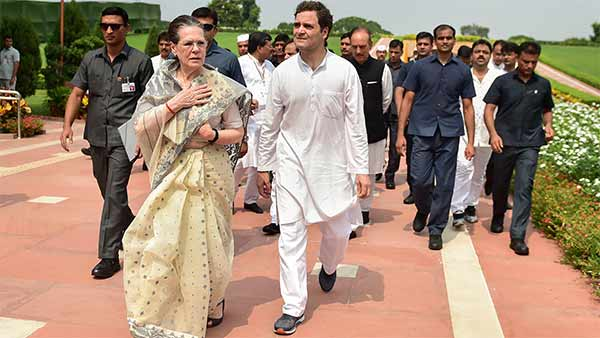 Centre to withdraw SPG security cover to Sonia Gandhi Family
