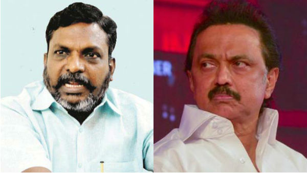 VCK slams DMK and Congress on LTTE Issue