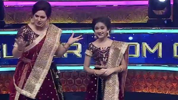 சூப்பர் லக் பேபி ஸாரா...இது சரிதானா?