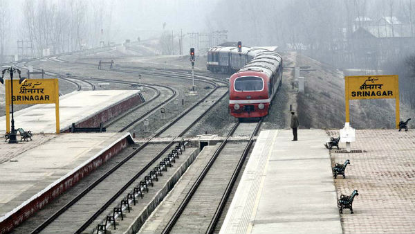 Indian Railways resume train service from tomorrow in Kashmir