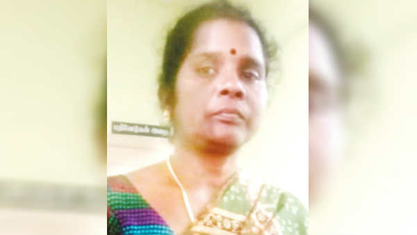 wife killed husband near tirupur