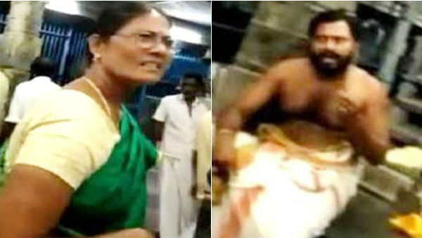 Chidambaram Nataraja Temple Dikshitar gets bail on assaulting a woman