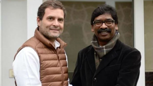 CM designate of Jharkhand Hemant Soren to invite Sonia , Rahul for the oath-taking ceremony on 29th