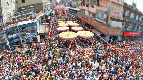 Pushpayagam was held at Padmavathi Thayar Temple