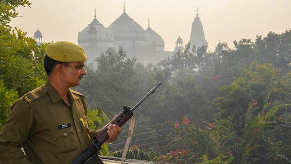 Demolition of the Babri Masjid: Police protection increased due to 27th anniversary