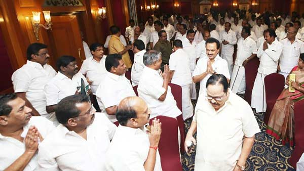 dmk says, ready to contest local body elections