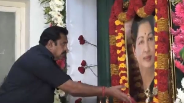 Jayalalithas 3rd memorial day observed today