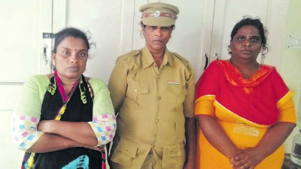 3 arrested including women in chennai