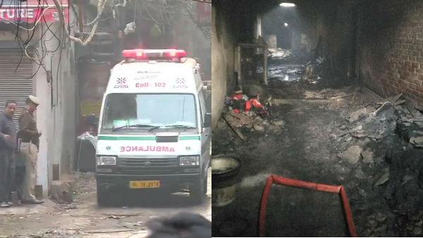 டெல்லியில் பயங்கர தீ விபத்து- 43 பேர் பலி- 50க்கும் மேற்பட்டோர் படுகாயம்