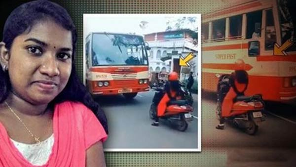flashback 2019: kerala woman stopped the bus video viral