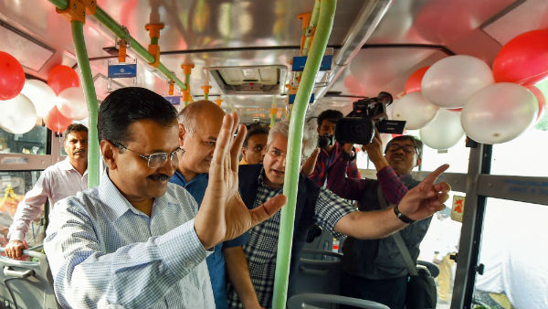 CCTV will be installed in 5,500 DTC & cluster buses, 3 in each: says Arvind Kejriwal