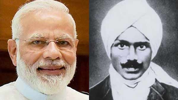 PM Modi wishes for Bharathiyar birth day in Tamil