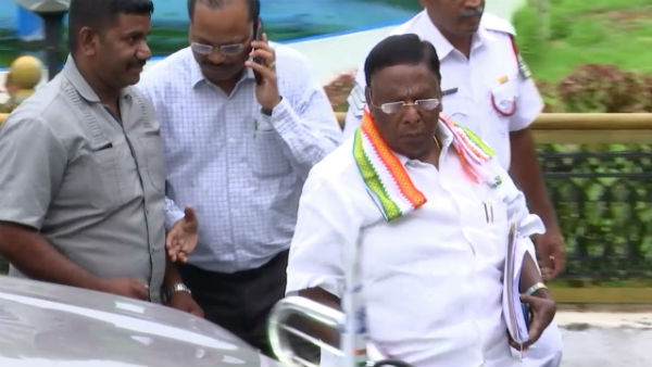 Chief Minister Narayanasamy said the Telangana encounter was a punishment given by the Lord