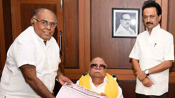 Former MLA Pazha Karuppaiah quits from DMK