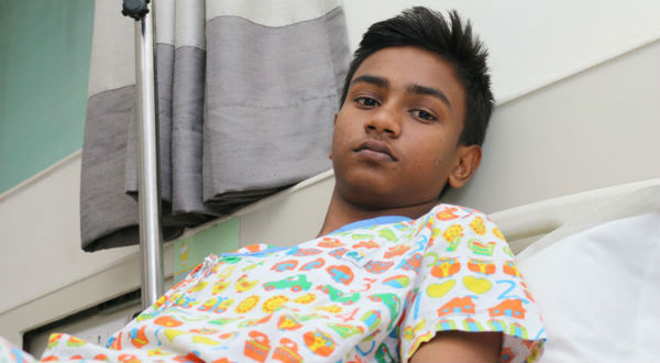15-year-old Prem will lose his life if he doesn't a kidney transplant urgently
