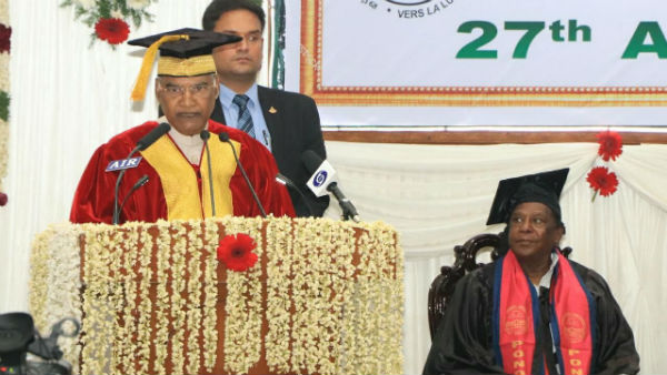 Pondicherry university university convocation