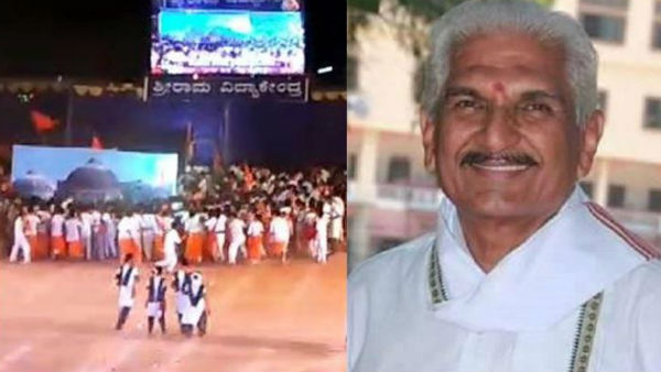 Karnataka RSS Leader Among 5 Booked for Enactment of Babri Mosque Demolition