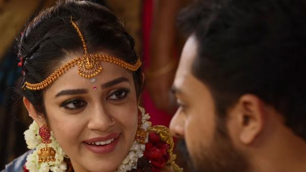 Run serial: யார் கூட நடிச்சாலும் பிரச்சனை... கடைசியில் ரியல் ஜோடியே...!