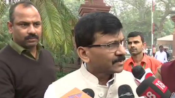 Shiv sena MP Sanjay Raut says nothing is there for Tamil hindus of Srilanka in CAB