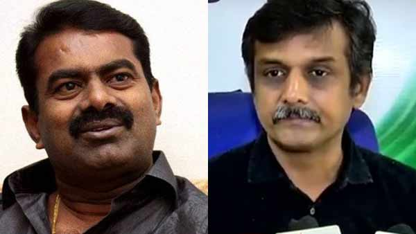 Srilanka Tamil MP Yogeswaran condmens Seeman and Thirumurugan Gandhi