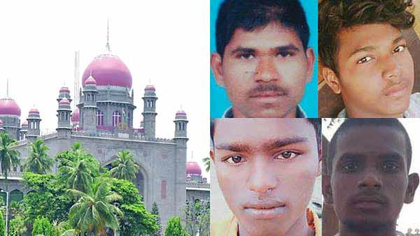 Telangana HC orders to preserve the bodies of 4 rape accused