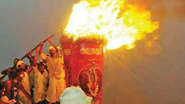 Karthigai Maha Deepam at Tiruvannamalai on Tomorrow