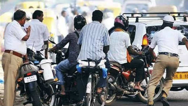 madurai traffic police collects rs 2.41 cr fine from offenders