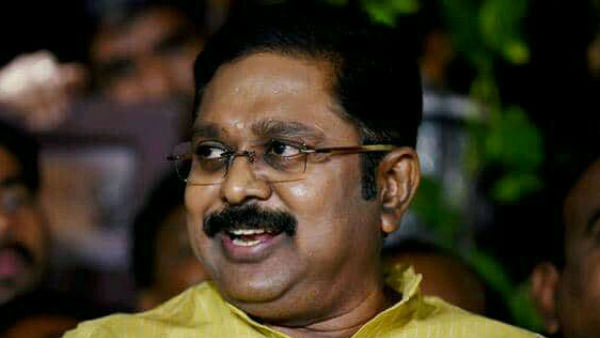 TTV Dinakaran says that a first place for Tamilnadu is the best comedy for the year 2019
