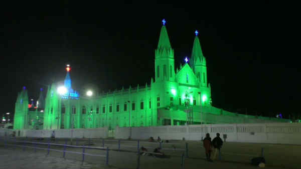 Many people from overseas and abroad are gathering in Velankanni to participate in the Christmas