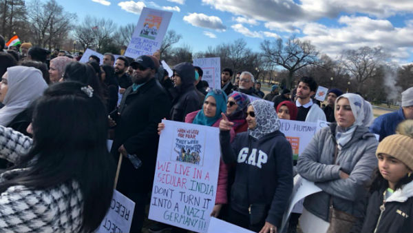 Indian Americans hold anti-CAA protests on Republic Day