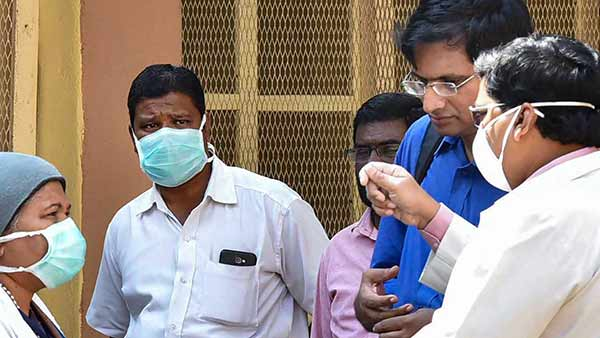 Tiruvannamalai software engineer has Coronavirus symptoms