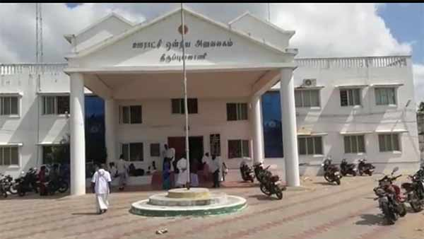 Local body election counting in Ramanathapuram district