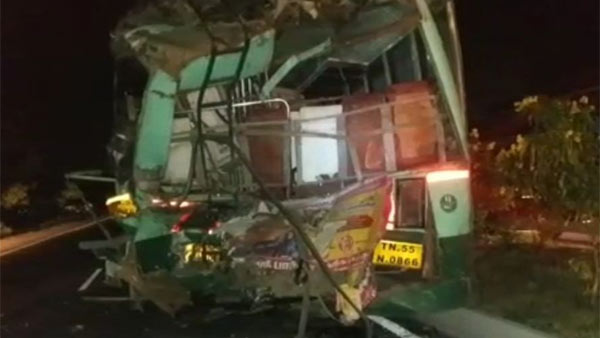 Four people death in road accident near Ulundurpet