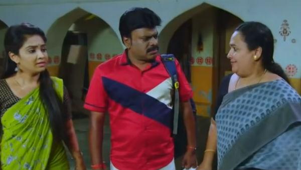 Kalyana veedu serial: அச்சச்சோ அபத்தமான வசனம் ... இப்படியுமா எழுதுவாங்க?
