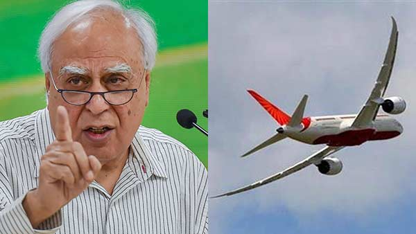 Air India sale- govt has no money, says Con. leader Kapil Sibal