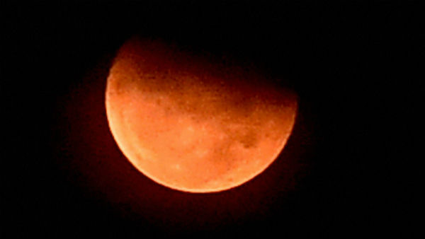 First one of years Lunar Eclipse on tomorrow