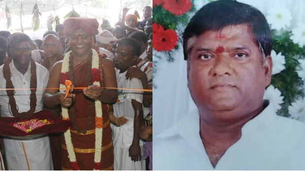 In Puducherry, the disciple of Nithyananda has been hacked to death