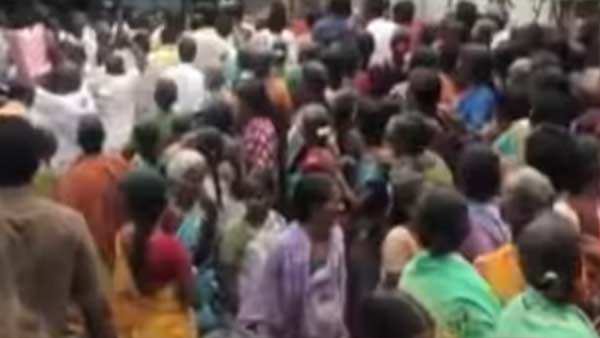 Local body election in Cuddalore district: People protest against the result