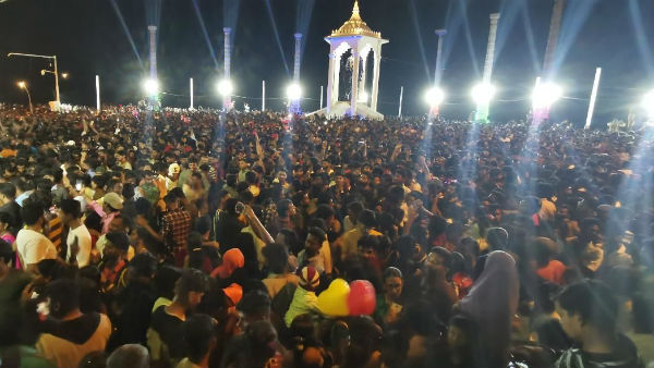 New year celebrations in puducherry