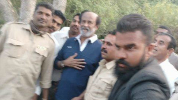 Rajinikanth has suffered minor injuries during the shooting of an episode of Man vs Wild
