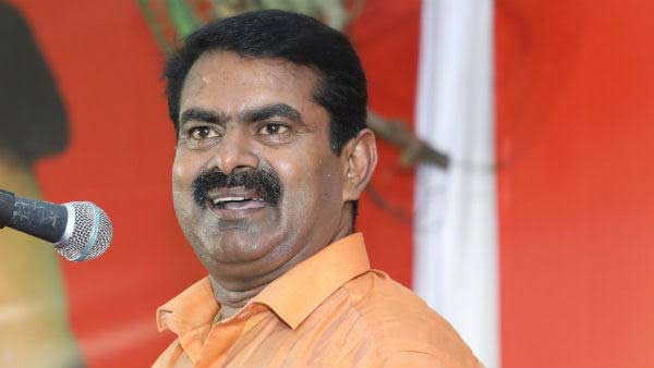 Seeman appeals to TN Govt to conduct consecration of Thanjavur Temple in Tamil