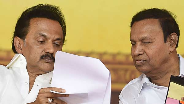 T.R.Baalu explains why DMK boycotts Congress partys meeting