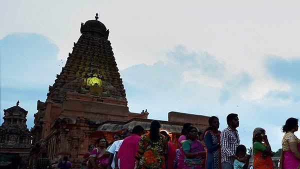 Thanjavur Big Temple Kumbahishekam Poorvanga Pooja begins today