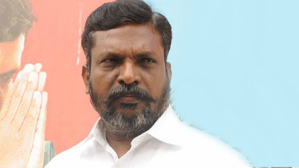 Petrol bomb attempt at gurumurthis home: Thirumavalavan condemns